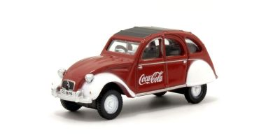 OXFORD 1/76scale Citroen 2CV Coca Cola  [No.OX76CT007CC]