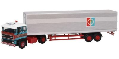 OXFORD 1/76scale DAF 3300 Short Van Trailer Pollock  [No.OX76D28003]