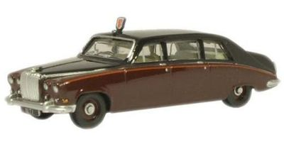 OXFORD 1/76scale Daimler Claret/Black (Queen Mothers Car) DS420  [No.OX76DS004]
