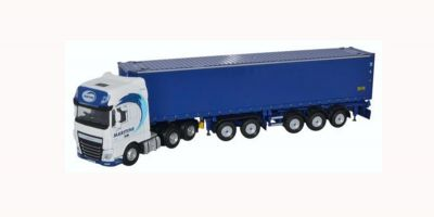OXFORD 1/76scale Daf XF Euro 6 Combitrailer Container Maritime Transport  [No.OX76DXF001]
