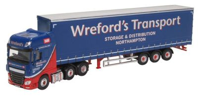 OXFORD 1/76scale DAF XF Euro 6 Curtainside Wrefords  [No.OX76DXF002]