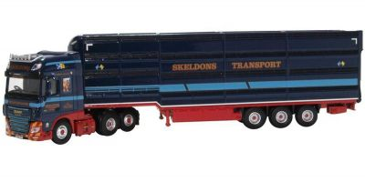 OXFORD 1/76scale DAF XF Euro 6 Livestock Transporter Skeldons  [No.OX76DXF004]