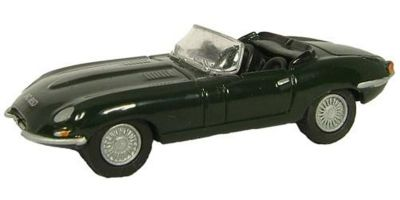 OXFORD 1/76scale Jaguar E Type Racing Green  [No.OX76ETYP001]