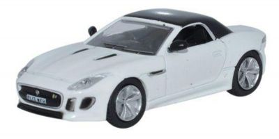 OXFORD 1/76scale Jaguar F Type Polaris White  [No.OX76FTYP2]