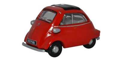 OXFORD 1/76scale BMW Isetta Signal Red  [No.OX76IS001]