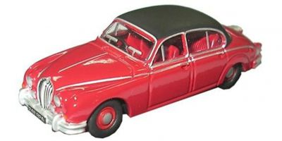 OXFORD 1/76scale Jaguar MKII Jag Regency Red  [No.OX76JAG2001]