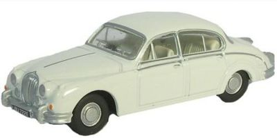 OXFORD 1/76scale Jaguar MKII Old English White  [No.OX76JAG2002]