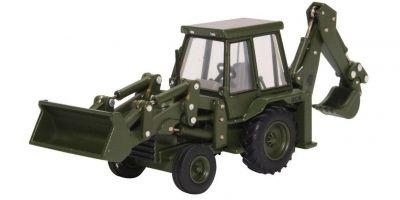 OXFORD 1/76scale JCB 3CX (1980s) Army  [No.OX76JCX002]