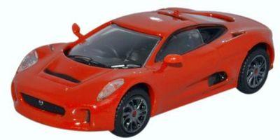 OXFORD 1/76scale Jaguar C-X75 Prototype Orange  [No.OX76JCX7502]