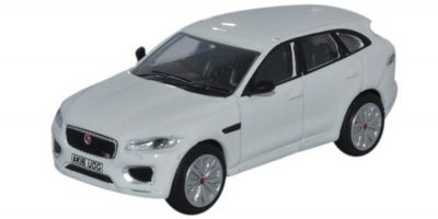 OXFORD 1/76scale Jaguar F-PACE Polaris White  [No.OX76JFP002]