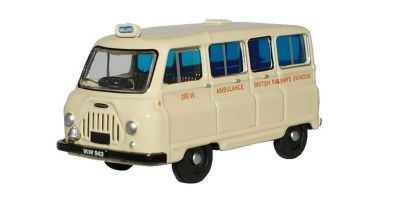 OXFORD 1/76scale Morris J2 Ambulance British Railways  [No.OX76JM019]