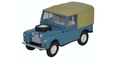 OXFORD 1/76scale Land Rover Series 1 88 Canvas Marine Blue  [No.OX76LAN1823]