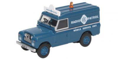 OXFORD 1/76scale Land Rover Series II LWB Hard Top RAC Radio Patrol  [No.OX76LAN2017]