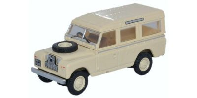 OXFORD 1/76scale Land Rover Series II SWB Station Wagon Pastel Green  [No.OX76LAN2019]