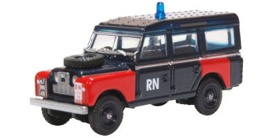 OXFORD 1/76scale Land Rover Series II Lwb Station Wagon Royal Navy Bomb  [No.OX76LAN2021]
