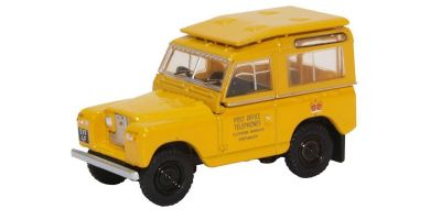 OXFORD 1/76scale Land Rover Series II SWB Post Office Telephones  [No.OX76LR2S004]