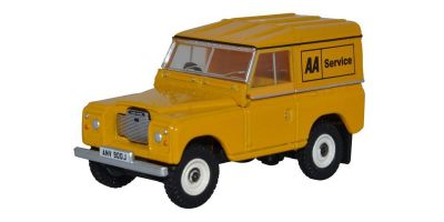 OXFORD 1/76scale Land Rover Series III Hard Top AA  [No.OX76LR3S002]