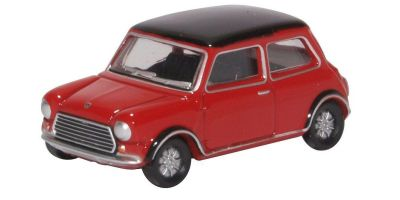 OXFORD 1/76scale Mini Cooper MKII Tartan Red/Black  [No.OX76MCS003]
