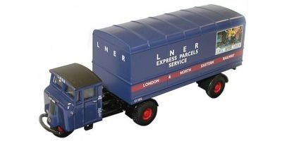 OXFORD 1/76scale LNER Mechanical Horse Van Trailer  [No.OX76MH004]