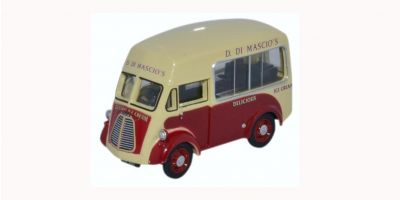 OXFORD 1/76scale Morris J Ice cream Di Mascios  [No.OX76MJ011]