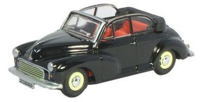 OXFORD 1/76scale The Morris Minor Soft top Convertible Open Black/Grey  [No.OX76MMC002]