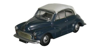 OXFORD 1/76scale The Morris Minor Soft top Traf Blue/Pearl Grey Minor  [No.OX76MMC004]