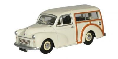 OXFORD 1/76scale The Morris Minor Traveller Old English White  [No.OX76MMT001]