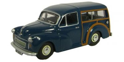 OXFORD 1/76scale Morris Minor Traveller (Blue / Wood)  [No.OX76MMT002]