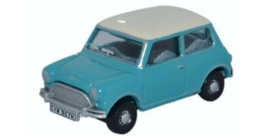 OXFORD 1/76scale Mini Surf Blue / Old English White  [No.OX76MN008]