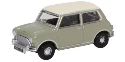 OXFORD 1/76scale Classic Mini Tweed Grey OEW  [No.OX76MN009]