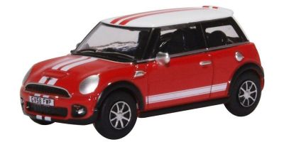 OXFORD 1/76scale New Mini Chili Red and White  [No.OX76NMN007]
