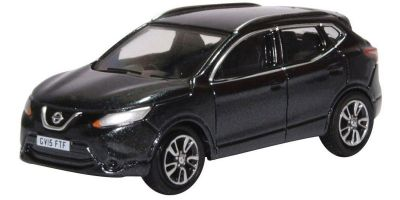OXFORD 1/76scale Nissan Qashqai J11 Pearl Black Metallic  [No.OX76NQ2002]