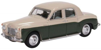 OXFORD 1/76scale Rover P4 Stone Grey and Juniper Green  [No.OX76P4004]