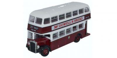 OXFORD 1/76scale Leyland PD2/12 Edinburgh Double Decker Bus [No.OX76PD2005]