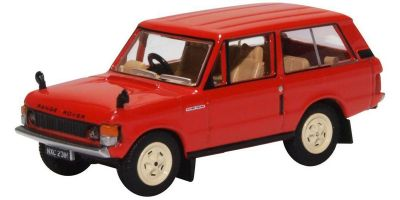 OXFORD 1/76scale Range Rover Classic Masai Red  [No.OX76RCL003]