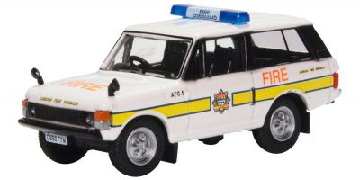 OXFORD 1/76scale Range Rover Classic London Fire Brigade  [No.OX76RCL004]
