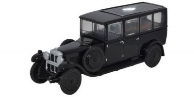 OXFORD 1/76scale Daimler Hearse Black  [No.OX76RDH001]