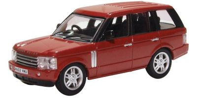 OXFORD 1/76scale Range Rover 3rd Generation Alveston Red  [No.OX76RR3002]