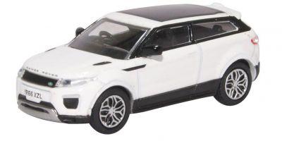 OXFORD 1/76scale Range Rover Evoque Coupe Facelift Fuji White  [No.OX76RRE002]