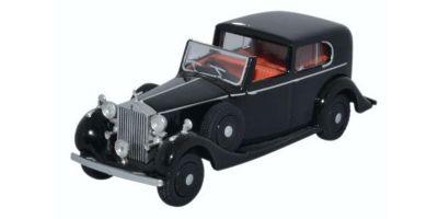 OXFORD 1/76scale Rolls-Royce Phantom III Black [No.OX76RRP3001]