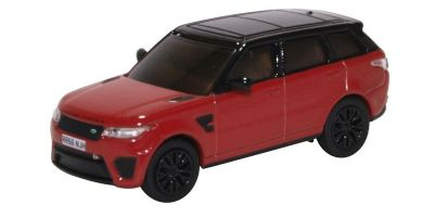 OXFORD 1/76scale Range Rover Sport SVR Firenze Red  [No.OX76RRS003]