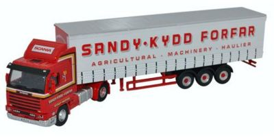 OXFORD 1/76scale Scania 143 Short Curtainside Sandy Kydd  [No.OX76S143004]