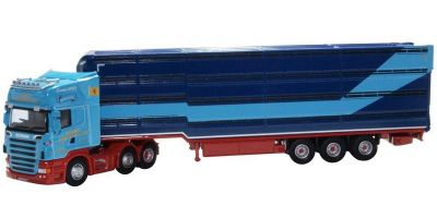 OXFORD 1/76scale Scania Houghton Parkhouse Professional Livestock Transporter George  [No.OX76SCA01LT]