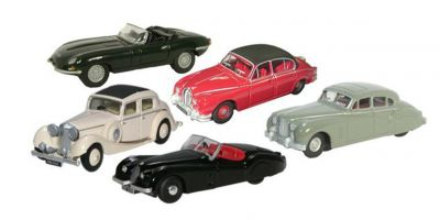 OXFORD 1/76scale Jaguar collection 5car set 2017 [No.OX76SET14A]