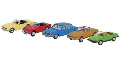 OXFORD 1/76scale 5 Piece Triumph Set  [No.OX76SET53]