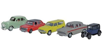 OXFORD 1/76scale 5 Piece Austin Set  [No.OX76SET56]