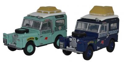 OXFORD 1/76scale Land Rover series 2 Piece Set First Overland  [No.OX76SET64]