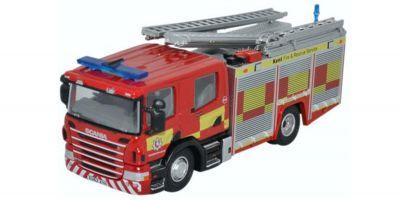 OXFORD 1/76scale Scania CP28 Pump Ladder Kent Fire & Rescue Service [No.OX76SFE009]