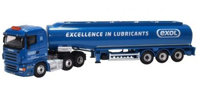 OXFORD 1/76scale Scania Highline Tanker Exol  [No.OX76SHL04TK]