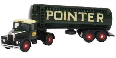 OXFORD 1/76scale Scammell Highwayman Tanker Pointer  [No.OX76SHT002]